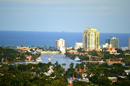 The beaches of Fort Lauderdale
