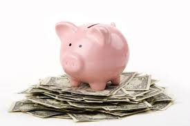 100 ways to save money piggy bank image