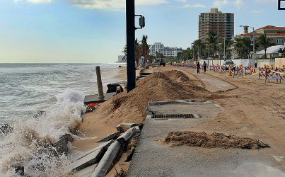 fort lauderdale beach damage 1