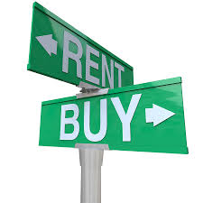renting vs buying image