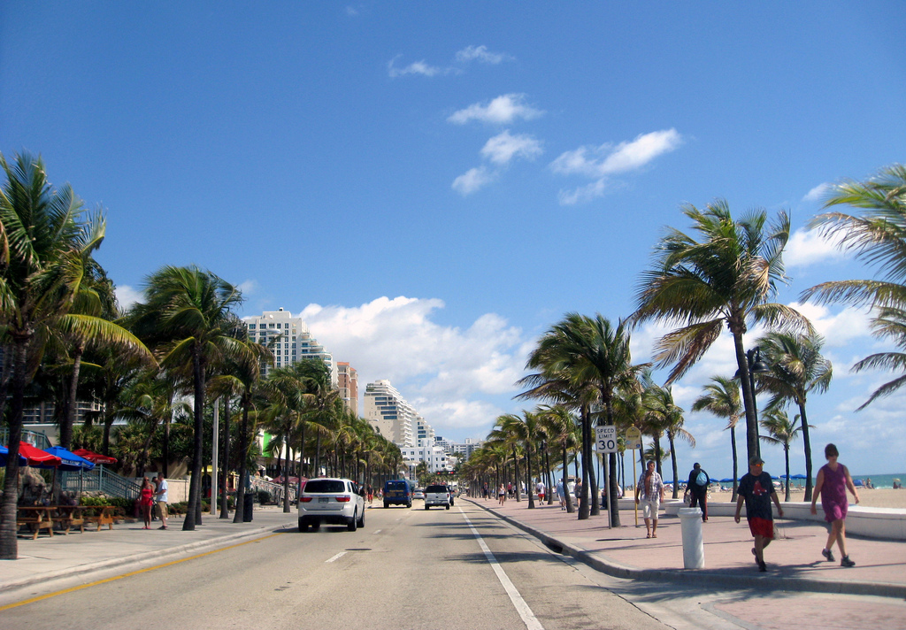 A1A getting a makeover north of Sunrise Blvd. in Fort Lauderdale