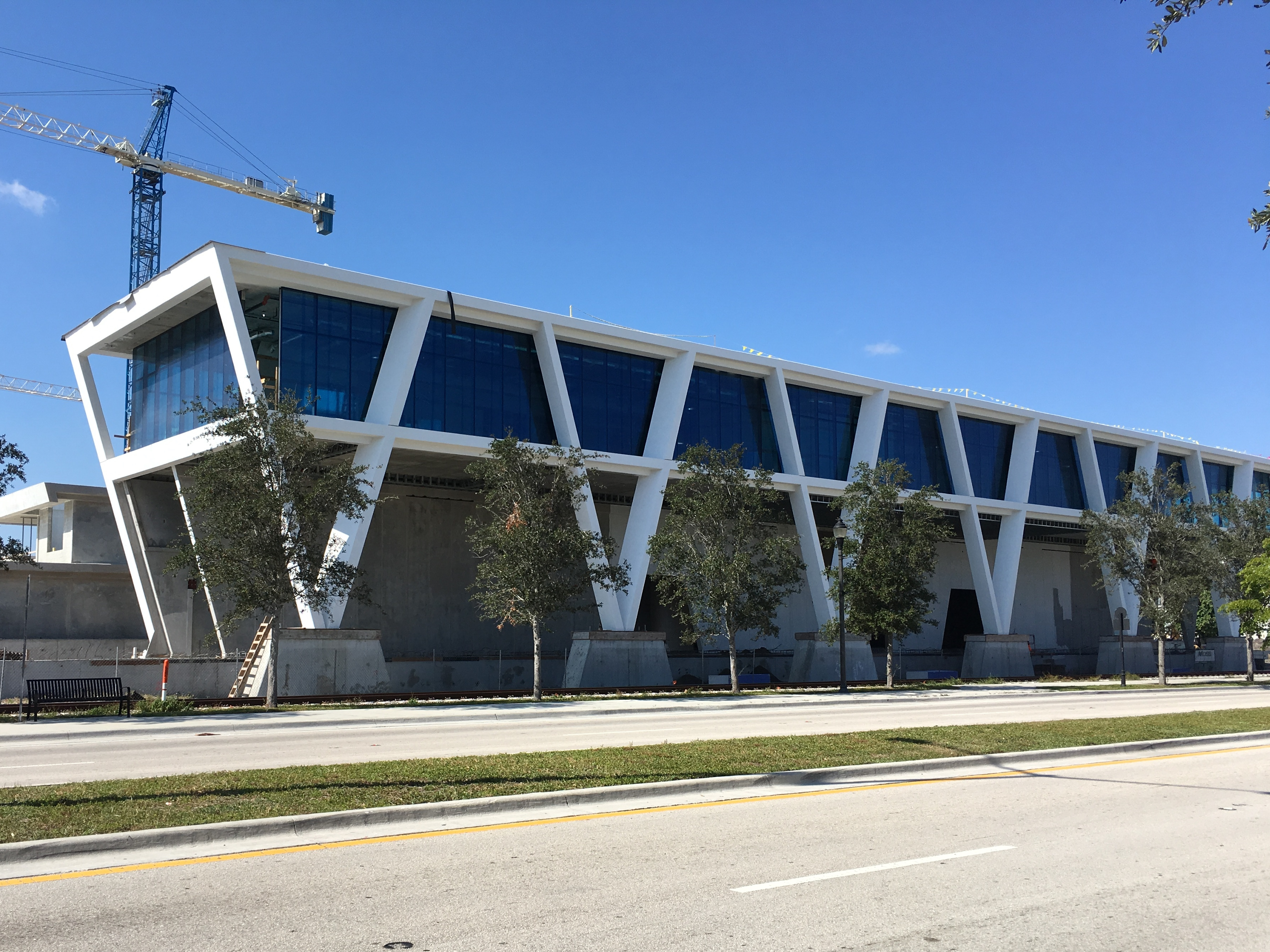 Demolition Begins for All Aboard Florida's New Station