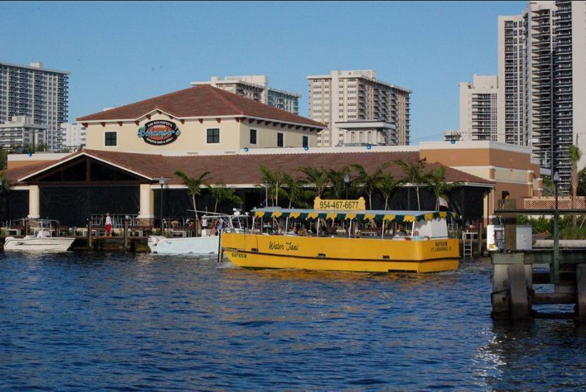 Bokampers water taxi